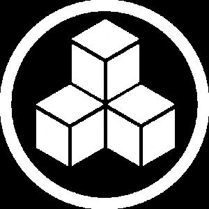 Service logo on transparent bg